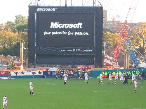 Microsoft and Rugby