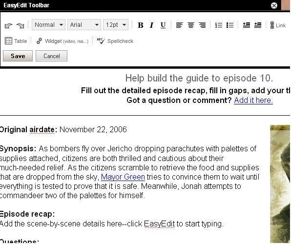 Jericho Wiki