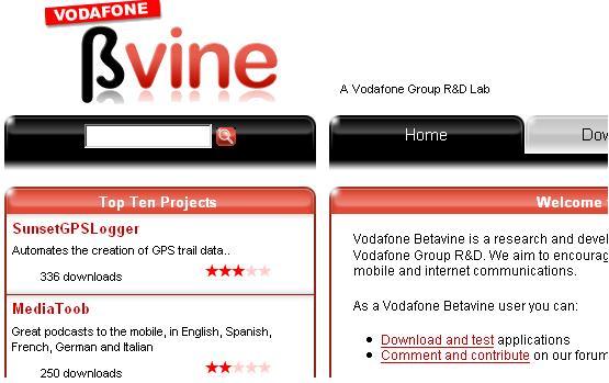 Vodafone Betavine