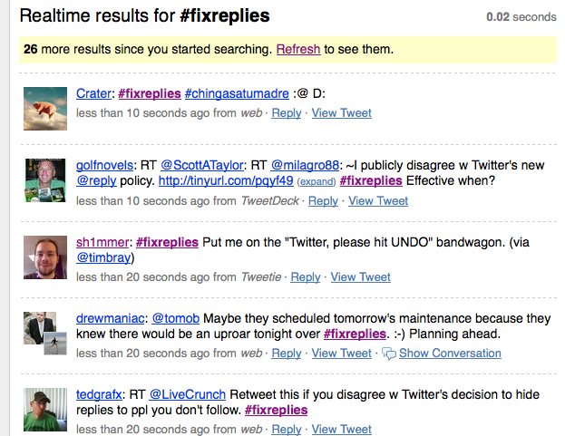 Twitter Fix Replies (screenshot from site)