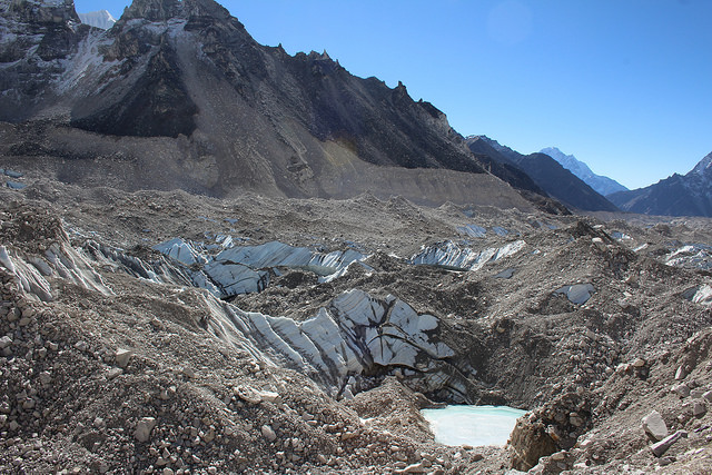 Khumba Glacier