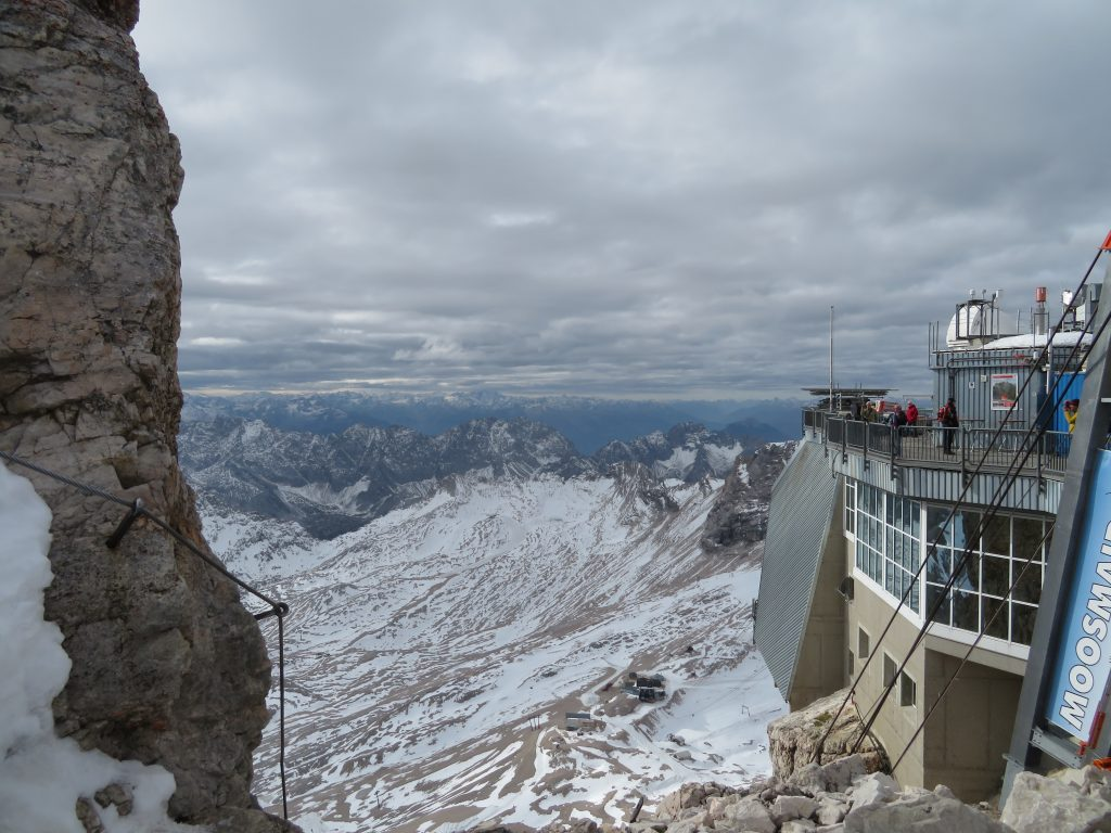 A view from Zugspitzen