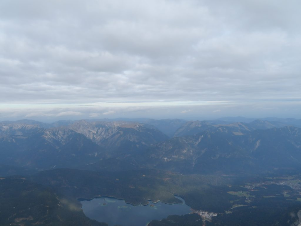 Looking down on Eibsee