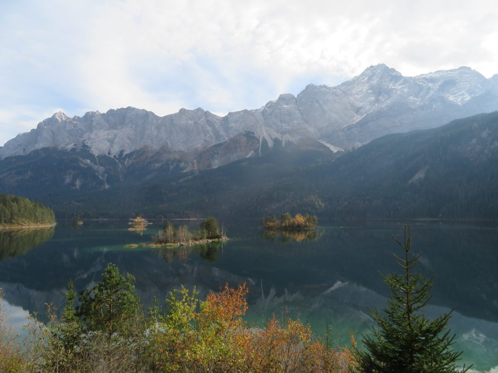 Zugspitzen from the Eibsee