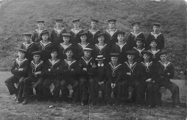 Navy training class