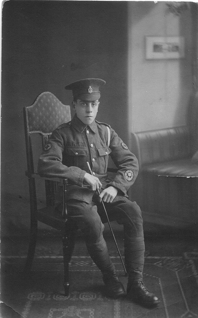 Sydney Harrison, taken during WW1