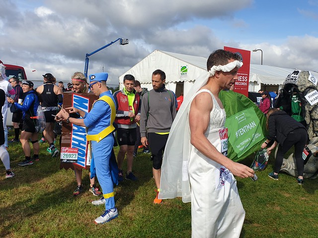 Runners in fancy dress