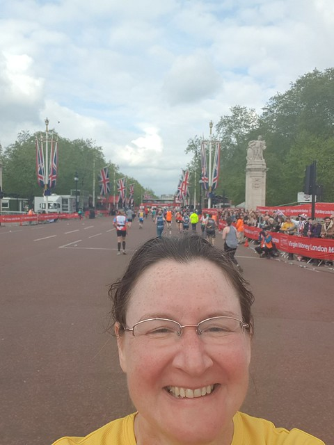 Me just before the last 200m to go on the Mall